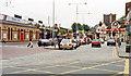 TQ3186 : Finsbury Park Station, exterior 1991 by Ben Brooksbank