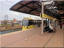 SJ8297 : Cornbrook Tram Station by David Dixon