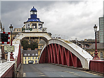 NZ2563 : Tyne Swing Bridge by William Starkey