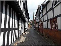 SO7137 : Church Lane, Ledbury by Jaggery