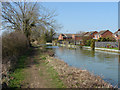 SP4913 : Oxford Canal towing path by Alan Hunt