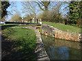 SP4912 : Kidlington Green Lock by Alan Hunt