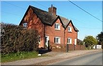 SJ6743 : Houses near Pendersend Farm by Anthony Parkes