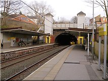 SD8203 : Heaton Park Metrolink Station by David Dixon