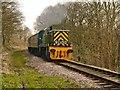 """SD7914 : East Lancashire Railway, """"Ernest"""" by David Dixon"""