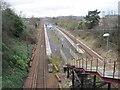 NS5960 : King's Park railway station, Glasgow by Nigel Thompson
