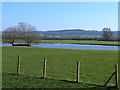 SP8592 : Duckpond off the Great Easton Road by Oliver Dixon