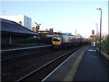 NZ4920 : Railway heading west from Middlesbrough Railway Station by JThomas
