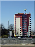SO9198 : Hallet Drive flats in Wolverhampton by Roger  Kidd