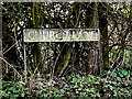 TM3492 : Church Lane sign by Adrian Cable