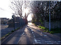 TQ4781 : Footpath towards Manorway Green by Linda Craven
