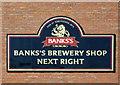 "SO9098 : Brewery ""encouragement"" board in Chapel Ash, Wolverhampton by Roger  Kidd"