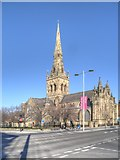 SJ8298 : The Cathedral of St John, Salford by David Dixon