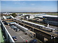 SU4416 : Southampton: Parkway station and the airport by Chris Downer