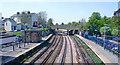 TQ6474 : Gravesend Station, view eastward by Ben Brooksbank