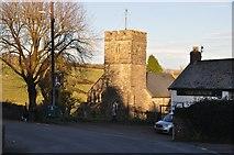 SS9531 : Brompton Regis : Lyddons Hill by Lewis Clarke