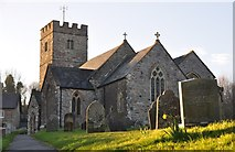 SS9531 : Brompton Regis : St Mary's Church by Lewis Clarke