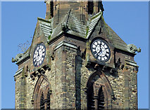 SO9098 : The spire of St Mark's Church (detail) in Chapel Ash, Wolverhampton by Roger  Kidd