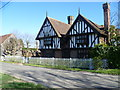 TQ6246 : Half-timbered house at Tudeley Hale by Marathon