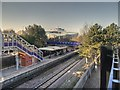 SJ8198 : Salford Crescent Railway Station by David Dixon