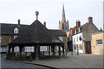 SK8608 : The Market Place, Oakham by Philip Halling