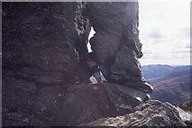 NN2505 : Ascent of the Cobbler by Richard Webb