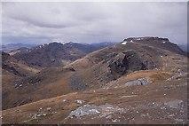 NN2505 : Near the summit, The Cobbler by Richard Webb