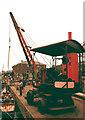 SX9291 : Exeter Maritime Museum - steam crane by Chris Allen