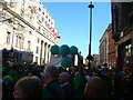 TQ2980 : There'll be four green balloons, hanging on some string... by Robert Lamb