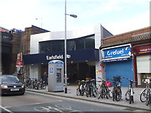 TQ2673 : The new station building at Earlsfield by David Howard