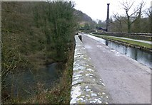 SK3155 : Aqueduct on the Cromford Canal by Russel Wills