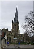 SK3871 : The Parish Church of St Mary and All Saints Chesterfield by Russel Wills