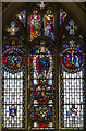 TV5597 : East window, Ss Simon & Jude, East Dean by Julian P Guffogg