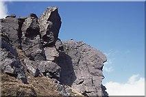 NN2605 : The Cobbler, North Peak by Richard Webb