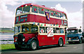 D4102 : Preserved double decker, Larne (1991) by Albert Bridge