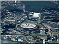 TQ3783 : 2012 Olympic Stadium from the air by Thomas Nugent