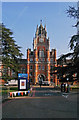 SU9970 : Entrance, Royal Holloway College, Egham by Julian Osley