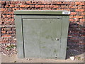 TM1643 : Metal box on Belstead Road by Hamish Griffin