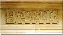 TQ3296 : Barclays Bank, Church Street, EN2 - detail by Mike Quinn