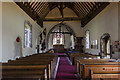TV5597 : Interior, Ss Simon & Jude church, East Dean by Julian P Guffogg
