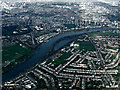 TQ2276 : Barnes from the air by Thomas Nugent
