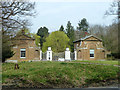 TL4300 : Gates and lodges, Copped Hall by Robin Webster