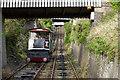 SN5882 : Aberystwyth Cliff Railway by Ian Capper