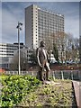SJ8398 : Joseph Brotherton Statue on New Bailey Street by David Dixon
