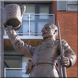 SJ8298 : The Cheering Fusilier by David Dixon