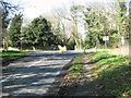 TG1504 : Ketteringham Lane/B1172 (Norwich Road) junction by Evelyn Simak