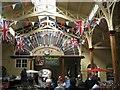 SS5533 : Fanlight, Pannier Market, Barnstaple by Robin Stott