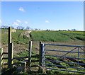 NZ1671 : Public footpath to Hold House Farm by Russel Wills