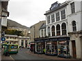 SZ5677 : Ventnor: Hurst Ironmonger and the new post office by Chris Downer