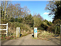 TM3692 : Bridleway to the A143 Yarmouth Road by Adrian Cable